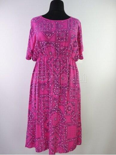 Raštuota suknelė 3