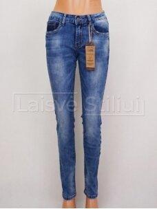 Mėlyni džinsai, didesni dydžiai M.SARA