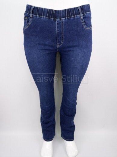 Mėlyni džinsai su guma DUNAKESZI