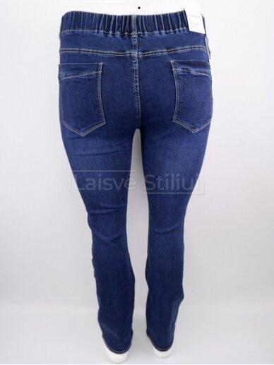 Mėlyni džinsai su guma DUNAKESZI 3