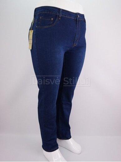 Mėlyni klasikiniai džinsai YARRTER 2