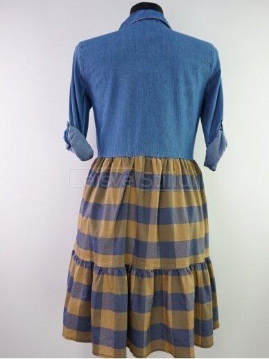 Plono džinso suknelė 3