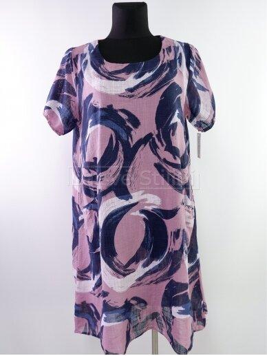 Rausva suknelė