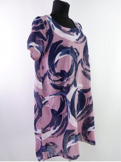 Rausva suknelė 2