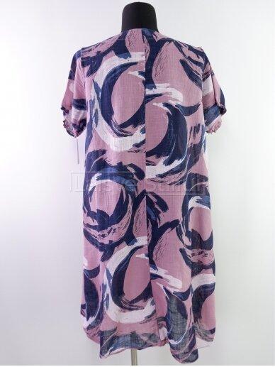 Rausva suknelė 3