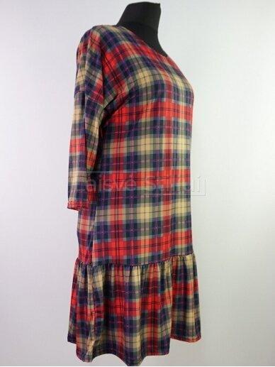 Smulkiai languota suknelė 2