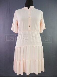 Šviesi su sagutėmis suknelė