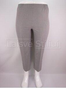 Šviesiai pilkos klasikinės kelnės