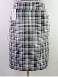 Šviesus languotas sijonas