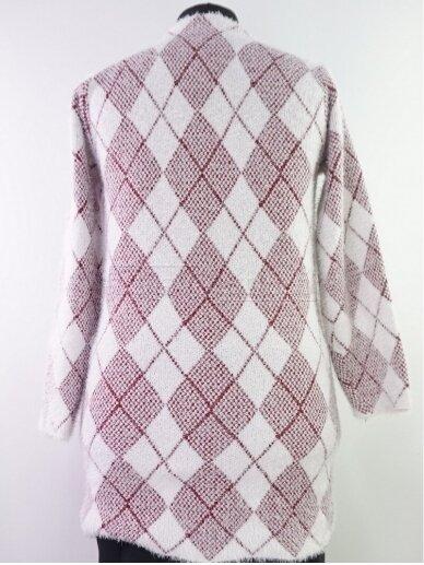 Šviesus su raudona megztinis 3