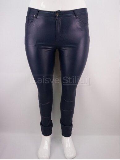 Tamsiai mėlynos vaškinės kelnės GOODIES
